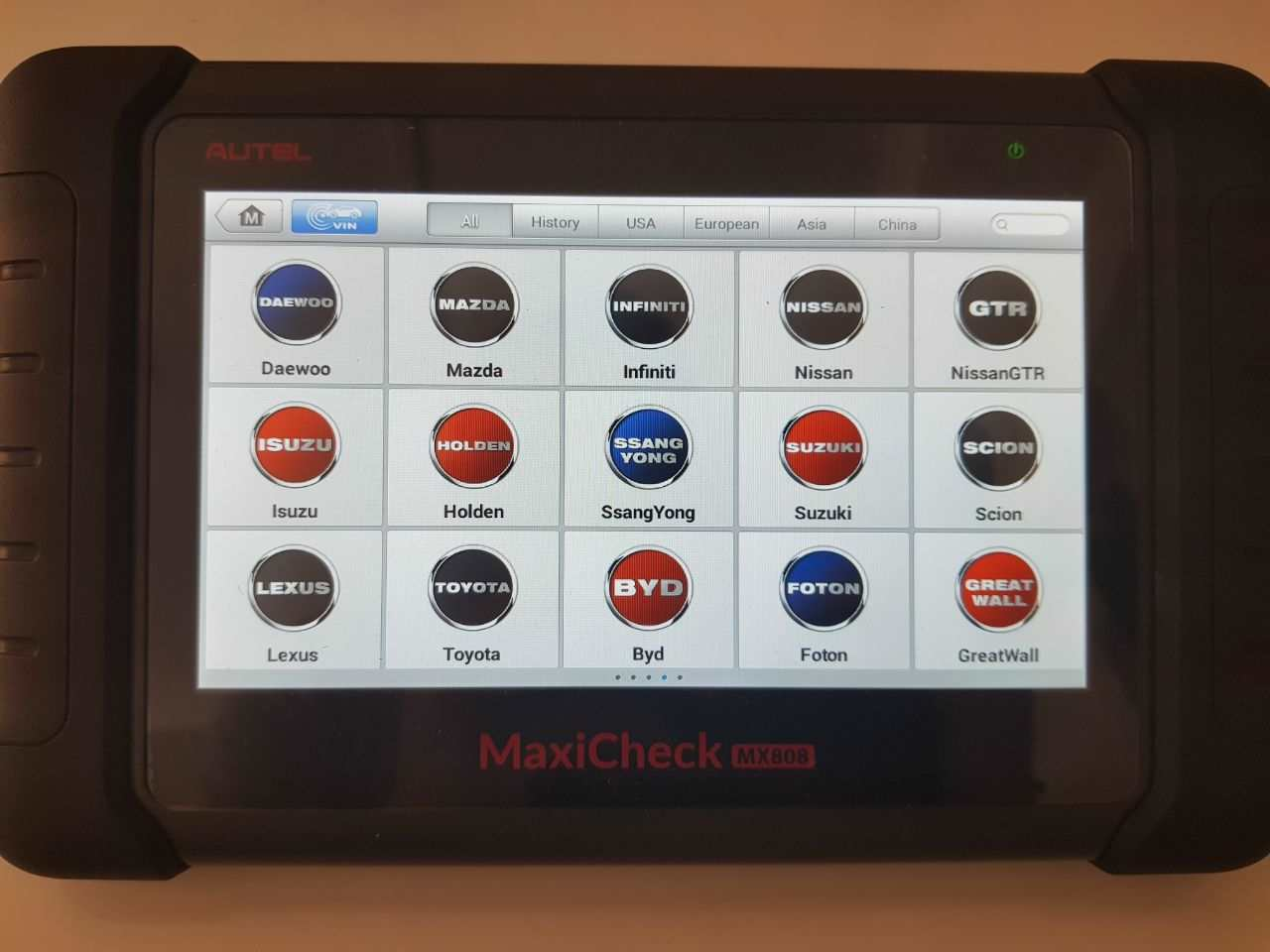 Autel MX808 diagnostics 4