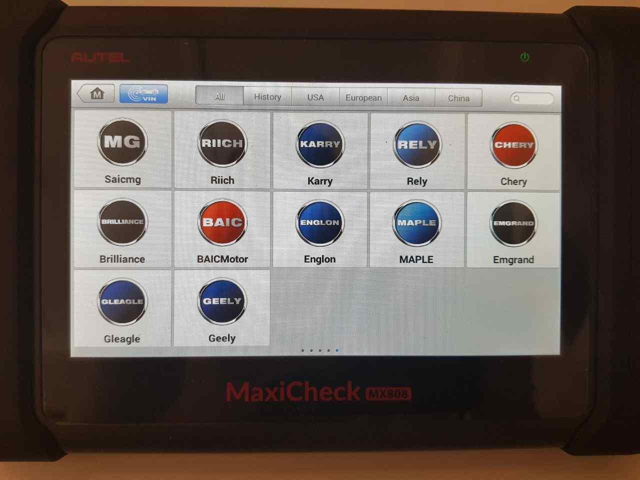 Autel MX808 diagnostics 5