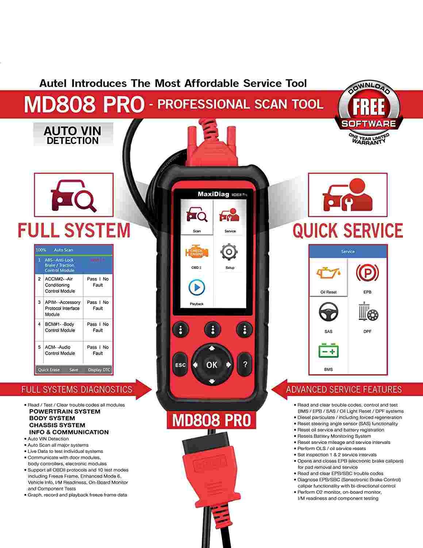 Autel MD808 PRO 2